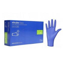 Rękawiczki Nitrylowe S